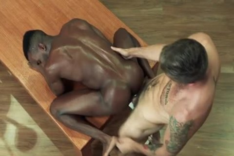 Muscle Bear Interracial And Facial spooge