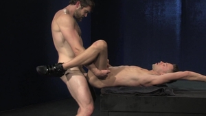 RagingStallion - Pale Colby Keller hard kissing each other